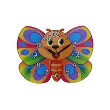 Wanduhr Butterfly