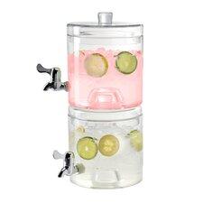 Stacking 2 Piece Beverage Dispenser Set (Set of 2)