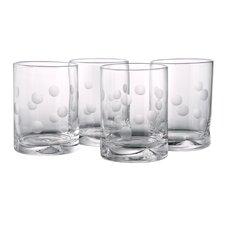 Polka Dot DOF Glass (Set of 4)