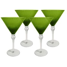 Pebbles 10 Oz. Martini Glass (Set of 4)
