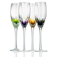 Solar Flute Glass (Set of 4)