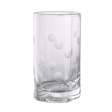 Polka Dot Highball Glass