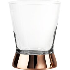 Coppertino Double 12 oz. Old Fashioned Glass (Set of 4)