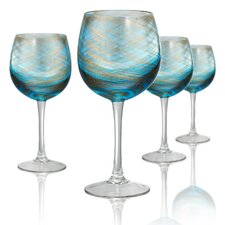Misty 4 Piece 14 Oz. Goblet Set (Set of 4)