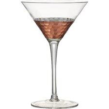 Coppertino Hammer Martini Glass (Set of 4)
