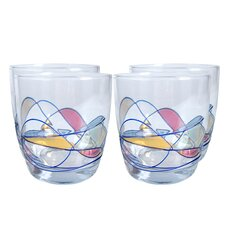 Helios Double Old Fashioned Glass (Set of 4)
