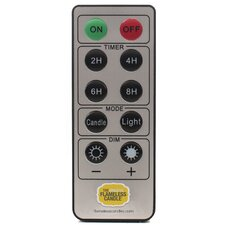Flameless Candle Remote Control with 10 Keys