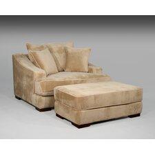 Cameron Chair and a Half and Ottoman