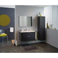 "Luxy 36"" Single Bathroom Vanity Set with Mirror"
