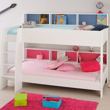 Leo Twin Over Twin Bunk Bed with Trundle