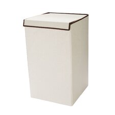 Deluxe Laundry Hamper with Lid Folds