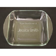 Personalized Square Baking Dish