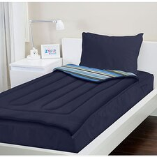 Navy Blue Bed in a Bag Set