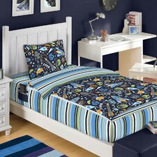 Outer Space Bed in a Bag Set
