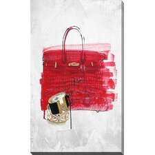 """Purse 1"" by BY Jodi Graphic Art on Wrapped Canvas"