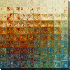 """Modern Mosaic Tile Wall Art #2, 2015"" by Mark Lawrence Graphic Art on Wrapped Canvas"