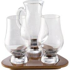 4-tlg. 4-tlg. Tasting Set Glencairn