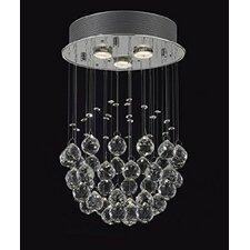 3 Light Crystal Chandelier