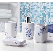 Oriental 4 Piece Bathroom Accessory Set