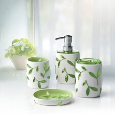 Olive 4 Piece Bathroom Accessory Set