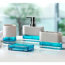 Float 4 Piece Bathroom Accessory Set
