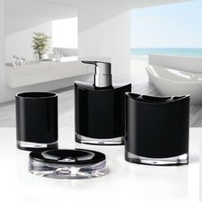 Optic 4 Piece Bathroom Accessory Set