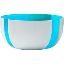 Stripe Salad Bowl