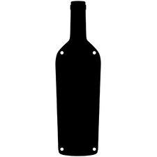 Wine Bottle Magnetic Chalkboard