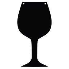 Wine Glass Magnetic Chalkboard