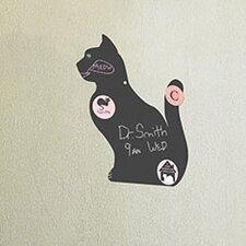 Cat Magnetic Chalkboard