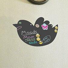 Bird Magnetic Chalkboard