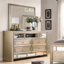 Champagne 7 Drawer Dresser
