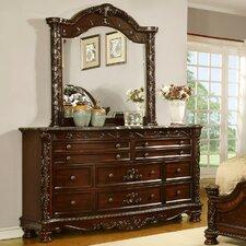 Patterson 10 Drawer Dresser with Mirror