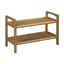 Abingdon Solid Wood Storage Entryway Bench