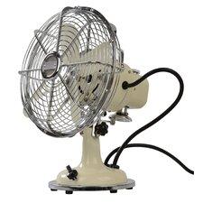Retro Oscillating Table Fan