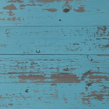 "Skinnies 5.5"" x 47.5"" Wood Tile in Blue Chalk"