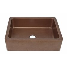 "Courbet 30"" x 22"" Farmhouse Kitchen Sink"