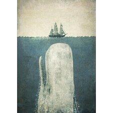 "Wandbild ""Whale"" von Terry Fan, Kunstdruck"
