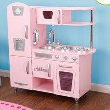 Personalized Pink Vintage Kitchen