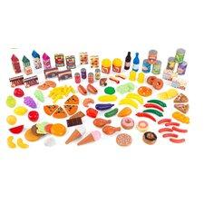 125 Piece Tasty Treats Play Food Set