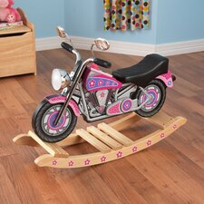 Flower Power Rockin Motorcycle