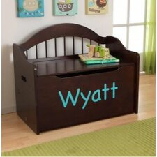 Personalized Limited Edition Toy Box in Espresso
