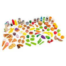 Tasty Treats 105 Piece Food Play Set