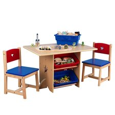 Star Kids 5 Piece Table and Chair Set