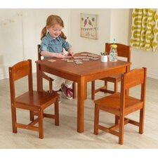 Farmhouse Kids 5 Piece Table & Chair Set