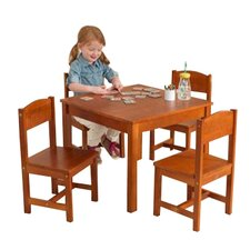 Farmhouse Kids 5 Piece Table and Chair Set