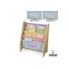"""Personalized Pastel Sling 28"""" Book Display"""