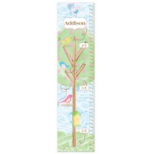Personalized Birds Growth Chart