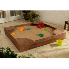 Backyard 5' Square Sandbox