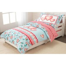 Princess Sweetheart 4 Piece Toddler Bedding Set